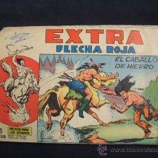 Tebeos: EXTRA - FLECHA ROJA - Nº 4 - EL CABALLO DE HIERRO - EDITORIAL MAGA -. Lote 28731058