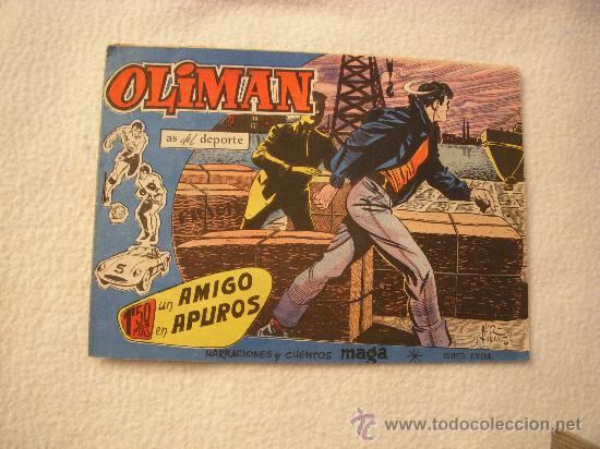 OLIMÁN Nº 12, EDITORIAL MAGA (Tebeos y Comics - Maga - Oliman)