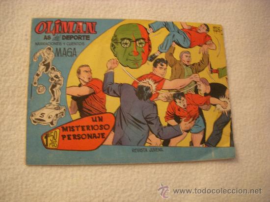 OLIMÁN Nº 5, EDITORIAL MAGA (Tebeos y Comics - Maga - Oliman)