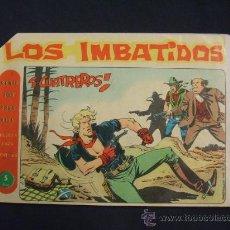 Tebeos: SERIE LOS TRES BILL - LOS IMBATIDOS - Nº 18 - CUATREROS - EDIT. MAGA -. Lote 28760088