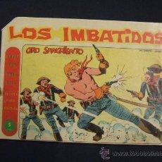 Tebeos: SERIE LOS TRES BILL - LOS IMBATIDOS - Nº 16 - ORO SANGRIENTO - EDIT. MAGA - . Lote 28760113