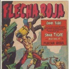 Tebeos: FLECHA ROJA REVISTA Nº 12. MAGA 1962.. Lote 28803148