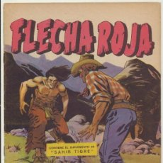 Tebeos: FLECHA ROJA REVISTA Nº 17. MAGA 1962.. Lote 28821024
