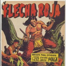 Tebeos: FLECHA ROJA REVISTA Nº 14. MAGA 1962.. Lote 28821097