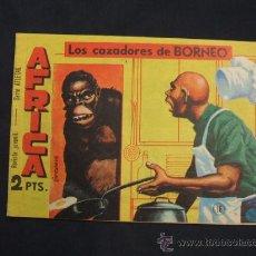 Giornalini: SERIE ATLETAS - AFRICA - Nº 16 - LOS CAZADORES DE BORNEO - EDIT. MAGA -. Lote 28842600