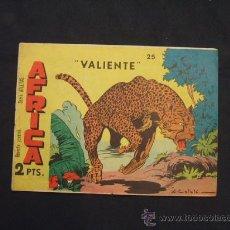 Tebeos: SERIE ATLETAS - AFRICA - Nº 25 - VALIENTE - EDIT. MAGA - . Lote 28845215