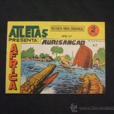 Tebeos: SERIE ATLETAS - AFRICA - Nº 47 - AURISANGAR - EDIT. MAGA - . Lote 28845748