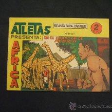 Tebeos: SERIE ATLETAS - AFRICA - Nº 49 - EN EL CORAZON DE AFRICA - EDIT. MAGA -. Lote 28845768