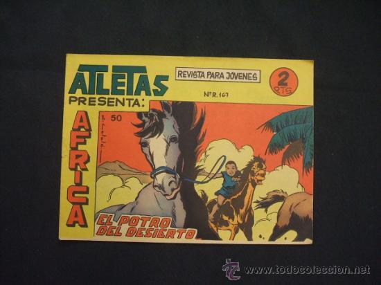 SERIE ATLETAS - AFRICA - Nº 50 - EL POTRO DEL DESIERTO - EDIT. MAGA - (Tebeos y Comics - Maga - Otros)