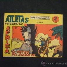 Tebeos: SERIE ATLETAS - AFRICA - Nº 50 - EL POTRO DEL DESIERTO - EDIT. MAGA -. Lote 28845798