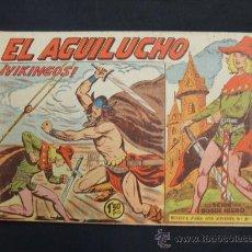 Tebeos: EL AGUILUCHO - Nº 62 - VIKINGOS - EDITORIAL MAGA - . Lote 29033591