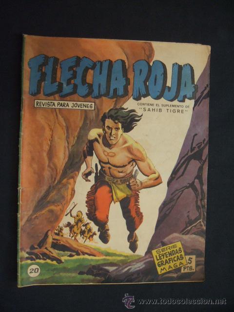 SERIE LEYENDAS GRAFICAS MAGA - FLECHA ROJA - Nº 20 - (Tebeos y Comics - Maga - Flecha Roja)