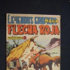Tebeos: LEYENDAS GRAFICAS MAGA - FLECHA ROJA - Nº 37 -. Lote 29037966