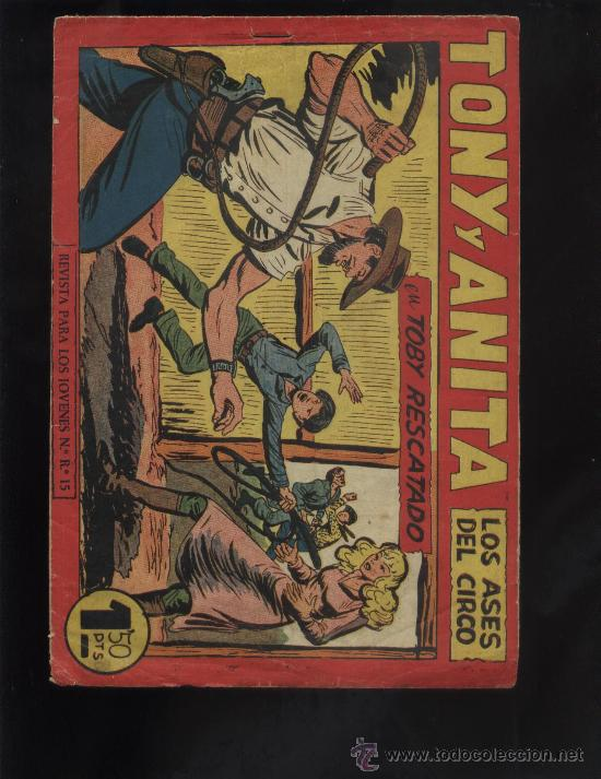 TONY Y ANITA Nº 153 ULTIMO DE LA COLECCION (Tebeos y Comics - Maga - Tony y Anita)