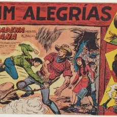Tebeos: JIM ALEGRÍAS Nº 8. EDITORIAL MAGA 1960.. Lote 29093399