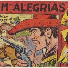 Tebeos: JIM ALEGRÍAS Nº 9. EDITORIAL MAGA 1960.. Lote 29093420
