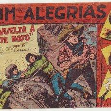 Tebeos: JIM ALEGRÍAS Nº 12. EDITORIAL MAGA 1960.. Lote 29093483