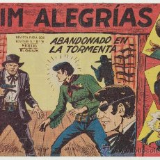 Tebeos: JIM ALEGRÍAS Nº 18. EDITORIAL MAGA 1960.. Lote 29093552