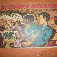 Tebeos: EL CLUB DE LOS CINCO Nº 31 EDITORIAL MAGA ORIGINAL. Lote 222794423