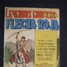 BDs: LEYENDAS GRAFICAS MAGA - FLECHA ROJA - Nº 25 -. Lote 29149401