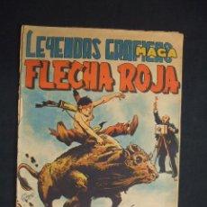 BDs: LEYENDAS GRAFICAS MAGA - FLECHA ROJA - Nº 36 -. Lote 29149509
