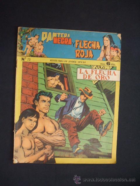 PANTERA NEGRA Y FLECHA ROJA - Nº 73 - EDITORIAL MAGA - (Tebeos y Comics - Maga - Flecha Roja)