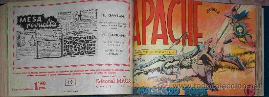 APACHE 1ª (MAGA) 56 EJ. (COMPLETA-2) (ORIGINAL) (Tebeos y Comics - Maga - Apache)