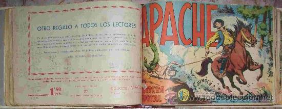 APACHE 1ª (MAGA) 56 EJ. (COMPLETA) (ORIGINAL) VER DESCRIPCION (Tebeos y Comics - Maga - Apache)