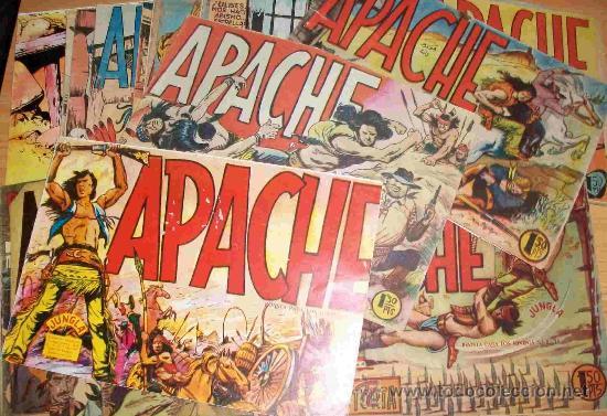 APACHE 1ª (MAGA) 56 EJ. (COMPLETA) (ORIGINAL) (Tebeos y Comics - Maga - Apache)