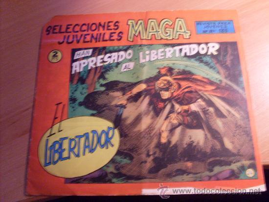 EL LIBERTADOR Nº 24 ( ORIGINAL ED. MAGA ) ( MAG1) (Tebeos y Comics - Maga - Otros)