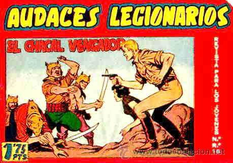 AUDACES LEGIONARIOS (MAGA) Nº 12 (Tebeos y Comics - Maga - Otros)