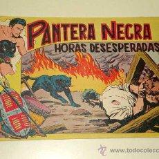 Tebeos: PANTERA NEGRA Nº 29. HORAS DESESPERADAS. PEDRO QUESADA Y JOSÉ ORTIZ. EDITORIAL MAGA 1956. ORIGINAL.. Lote 29468482