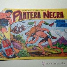 Tebeos: PANTERA NEGRA Nº 26. SULIMA Y HAMED. PEDRO QUESADA Y JOSÉ ORTIZ. EDITORIAL MAGA 1964 DE 2 PTS. ++. Lote 29468614