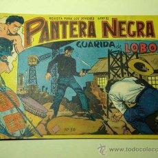 Tebeos: PANTERA NEGRA Nº 30. GUARIDA DE LOBOS. PEDRO QUESADA Y JOSÉ ORTIZ. EDITORIAL MAGA 1964 DE 2 PTS. ++. Lote 29468631
