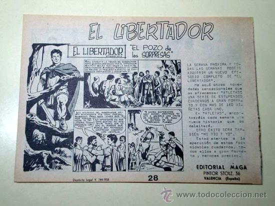 Tebeos: PANTERA NEGRA Nº 28. EL IMPOSTOR. PEDRO QUESADA Y JOSÉ ORTIZ. EDITORIAL MAGA 1964 DE 2 PTS. ++ - Foto 3 - 29468622