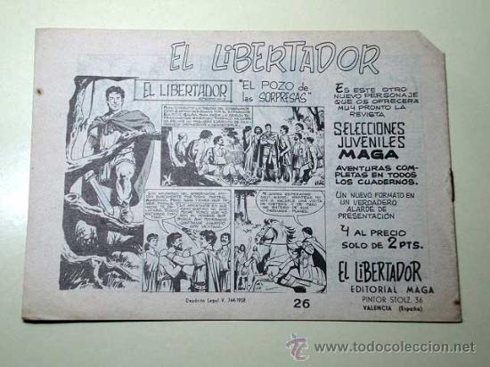 Tebeos: PANTERA NEGRA Nº 26. SULIMA Y HAMED. PEDRO QUESADA Y JOSÉ ORTIZ. EDITORIAL MAGA 1964 DE 2 PTS. ++ - Foto 3 - 29468614