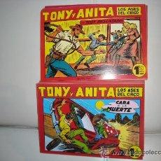 Giornalini: TONY Y ANITA LOTE DE 18 EJEMPLARES, MUY NUEVOS. Lote 29588511