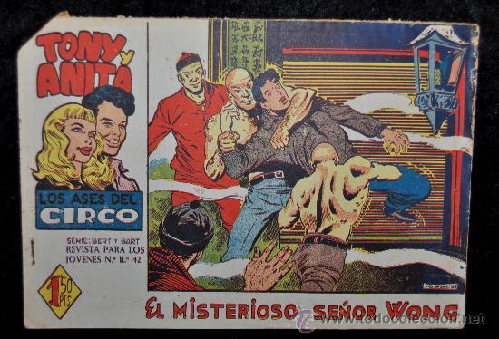 ANTIGUO COMIC DE TONI Y ANITA, ED. MAGA. NUM 42. (Tebeos y Comics - Maga - Tony y Anita)