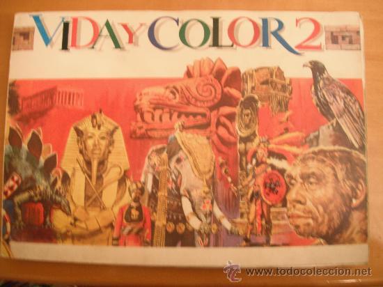 ALBUM MAGA. VIDA Y COLOR 2. 1968 (Tebeos y Comics - Maga - Otros)