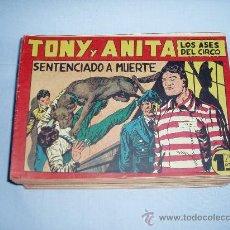 Tebeos: TONI Y ANITA 1ª. LOTE DEL 51 AL 153 ULTIMO. ORIGINALES. MAGA. FACILIDADES DE PAGO.. Lote 30350305