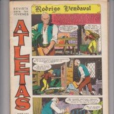 Tebeos: ATLETAS.( RODRIGO VENDAVAL) MAGA 1966. COMPLETA 6 EJEMPLARES.. Lote 30527849