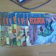 Tebeos: LOTE DE 9 TEBEOS, JOHNNY FOGATA DE MAGA 1960. Lote 30745982
