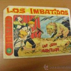 Tebeos: LOS IMBATIDOS Nº 17, DE MAGA 1963, DE 5 PESETAS. Lote 30899735