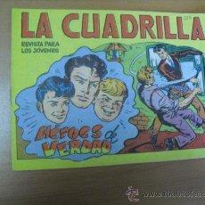 Tebeos: LA CUADRILLA Nº 3, DE MAGA 1964. Lote 30953421
