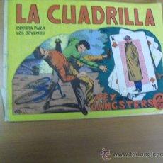 Tebeos: LA CUADRILLA Nº 8, DE MAGA 1964. Lote 30953447
