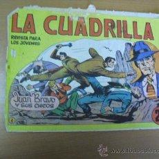Tebeos: LA CUADRILLA Nº 1, DE MAGA 1964. Lote 30953483