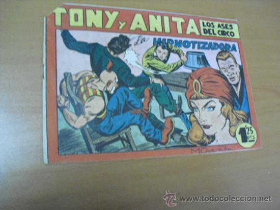 TONY Y ANITA Nº 5, DE MAGA 1951 (Tebeos y Comics - Maga - Tony y Anita)