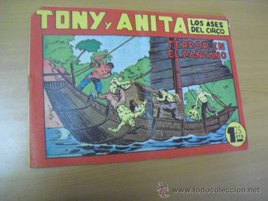 TONY Y ANITA Nº 56, DE MAGA 1951 (Tebeos y Comics - Maga - Tony y Anita)