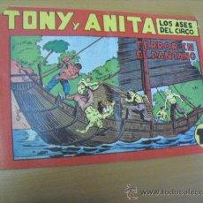 Livros de Banda Desenhada: TONY Y ANITA Nº 56, DE MAGA 1951. Lote 30979197