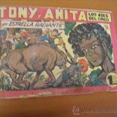 Tebeos: TONY Y ANITA Nº 144, DE MAGA 1951. Lote 30979286